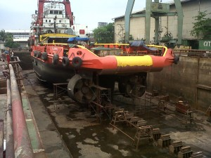 docking Aldebaran